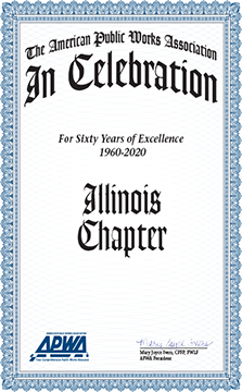 Congratulations on the Illinois Chapters 60th Anniversary!!