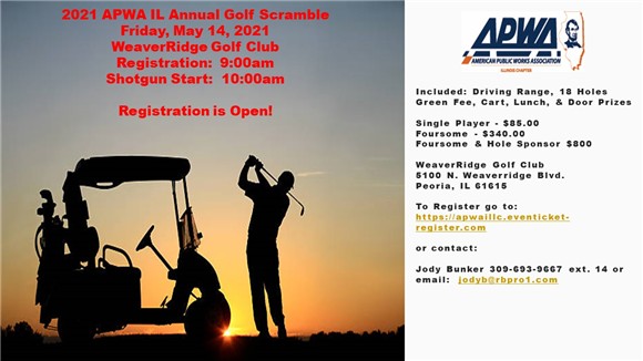 2021 APWA IL Annual Golf Scramble
