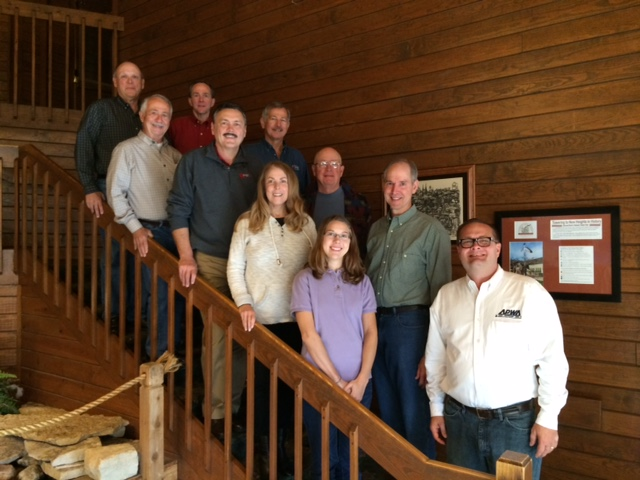 Starved Rock Meeting APWA Illinois Chapter Officers